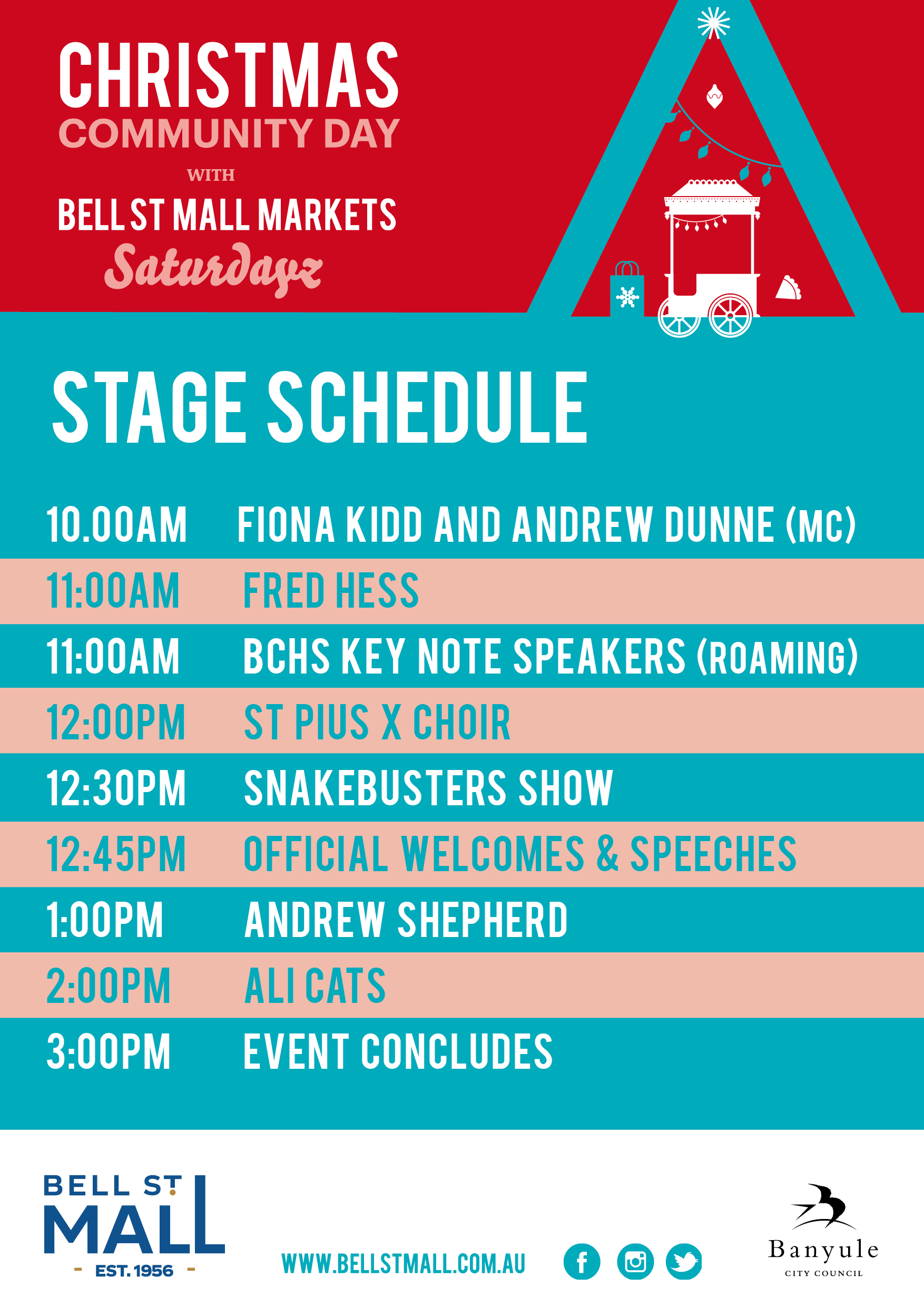 Bell St Mall Christmas Community Day