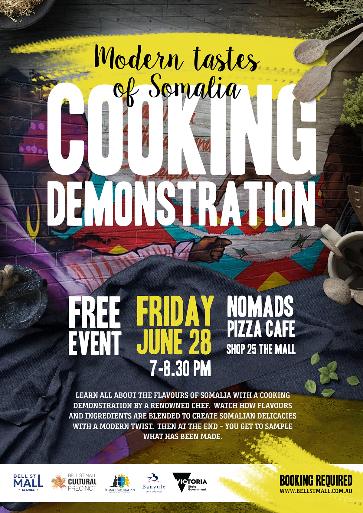 Somalian Cooking Demonstration