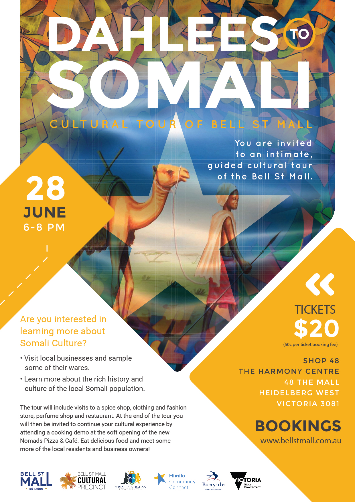 Dahlees to Somali Cultural Tour