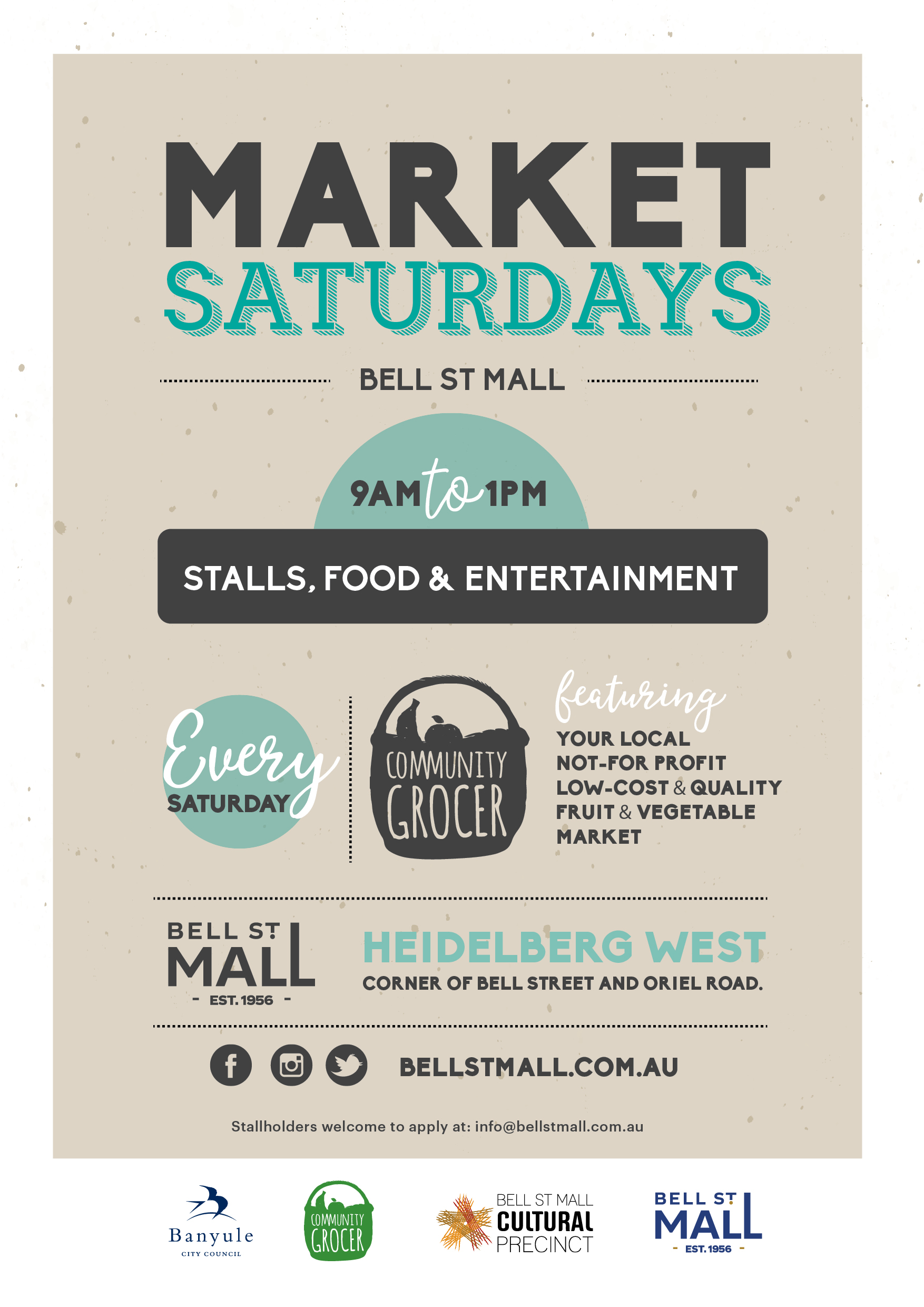 Bell St Mall Markets