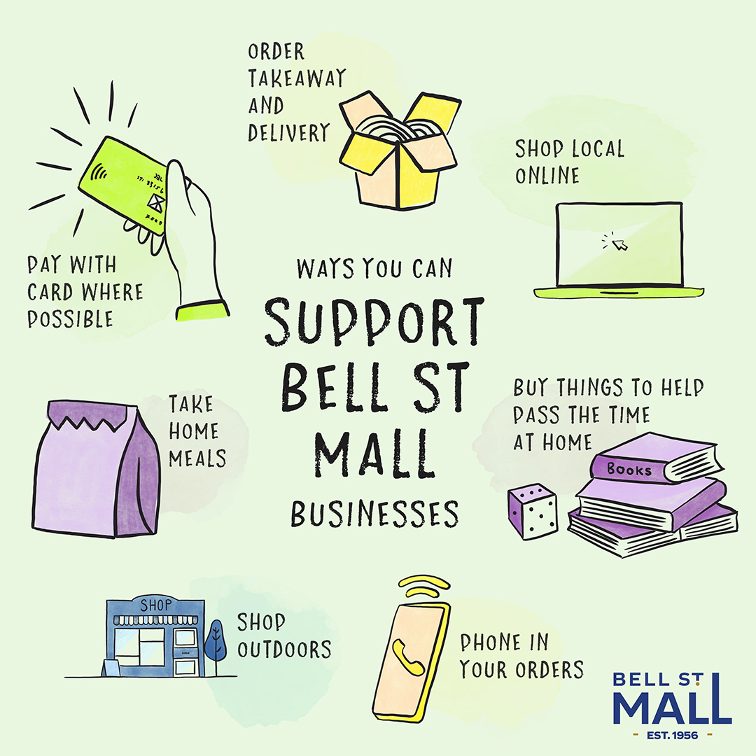 Support Bell St Mall Covid-19