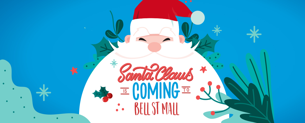 Santa is coming to Bell St Mall